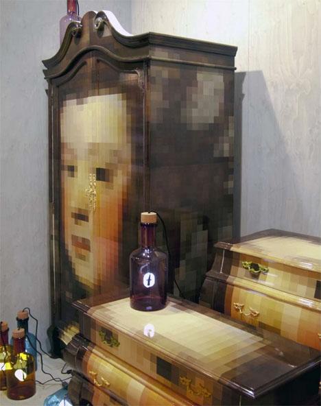 Pixelated Classic Furniture 4