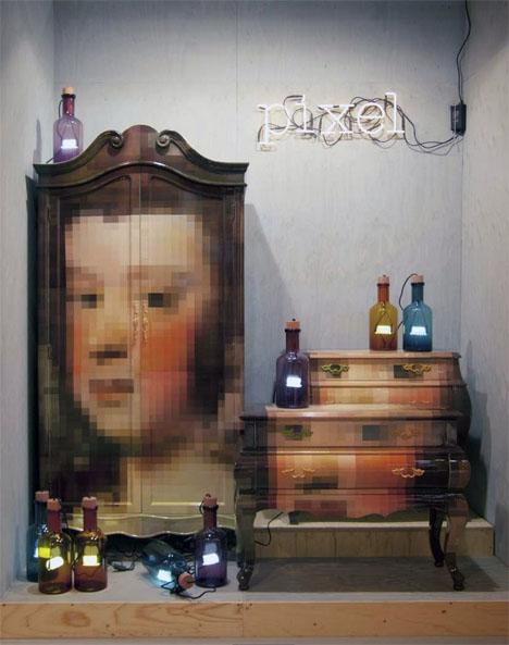 Pixelated Classic Furniture 5