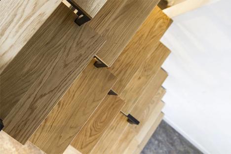 Steep Modern Stair System 5