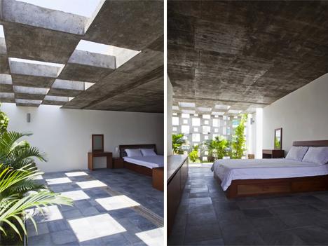 Tropical Modern Concrete Home 3 & Modern Tropics: Sculptural House Showcases Greenery