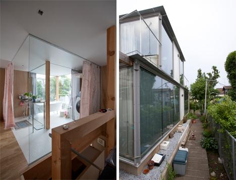 Bathroom And Exterior Curtains