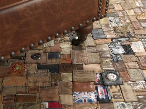 branded jeans label carpet