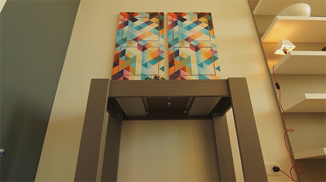 chair wall art