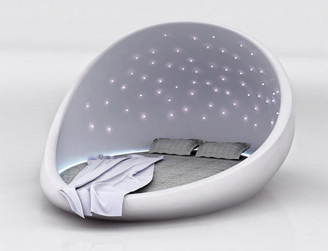 Starry Night: Cocoon-Like Bed Lulls You to a Peaceful...
