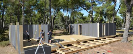 easy-build passive house