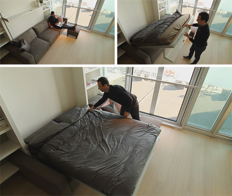 Watch As a 2-Room Apartment is Transformed Into 5 Rooms