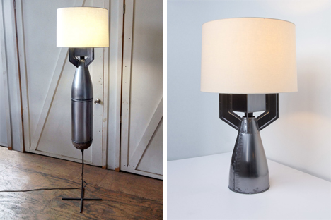 megaton floor and table lamps