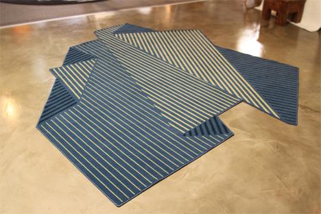 origami like rug