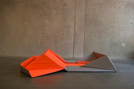 origami sofa 3