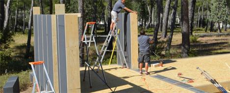 pop-up house construction