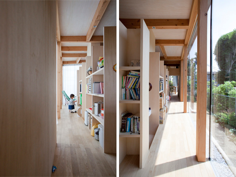 storage corridor
