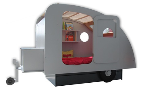 teardrop camper bed