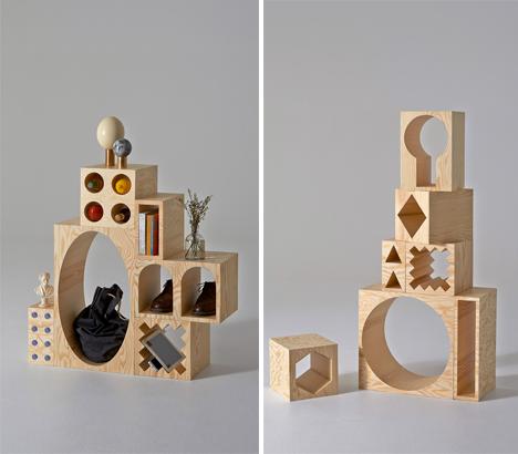 Building Block Shelves 3
