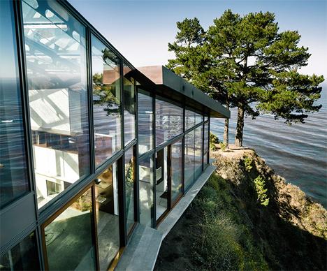 Glass Seaside House