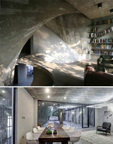 Modern Concrete Tea House 4