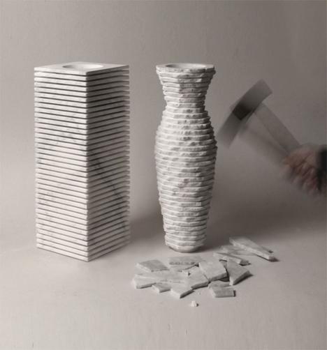 breakaway vase