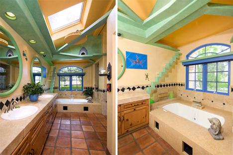 cat house bathroom