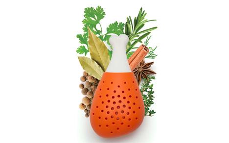 chicken leg herb infuser