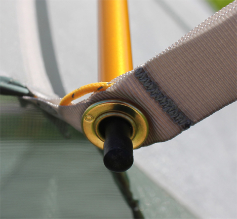 cord tension tent