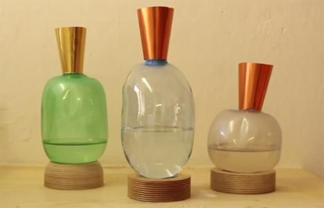 der kinderen blown plastic vases