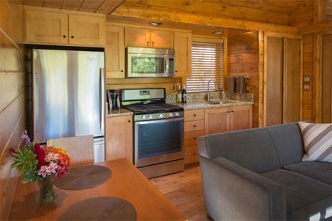 dining area escape cabin