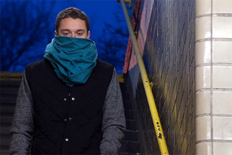 germ filtering scarf