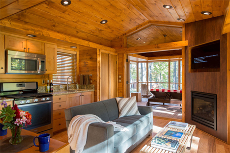 interior escape cabin