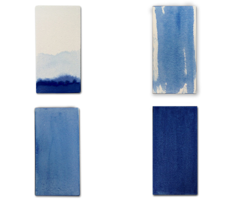 japanese traditional dyed tiles