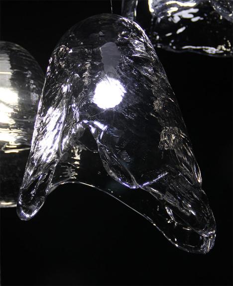 melting ice lamps