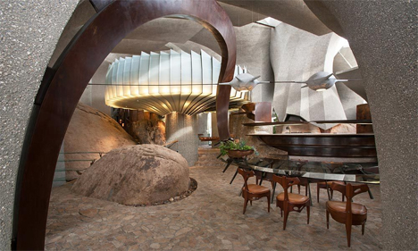 organic home interior