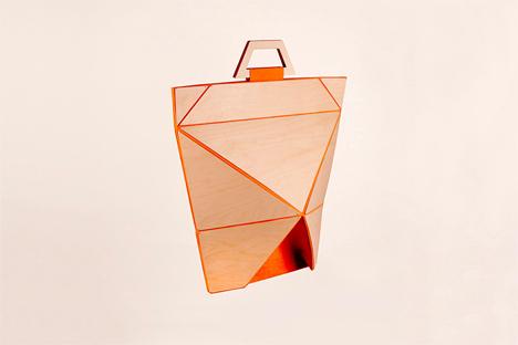 origami facet bags