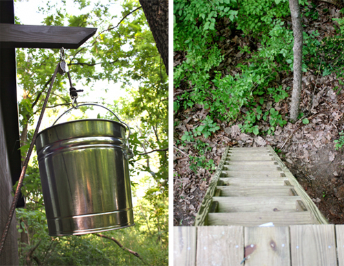 pail and ladder