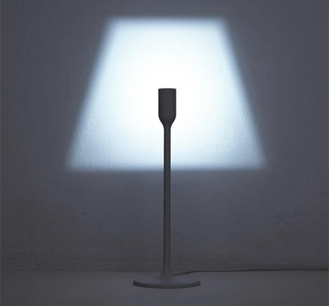 shade projecting lamp