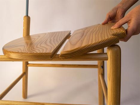 transforming chair stepladder