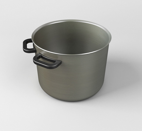 two handled soup pot