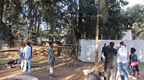 warka water tree building