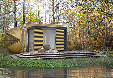 Futuristic Capsule House Takes Luxury Eco Hotels On The Go