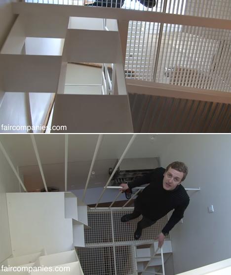 Paris Stairwell Apartment 3