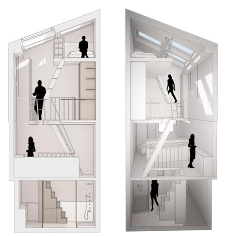 Paris Stairwell Apartment Main