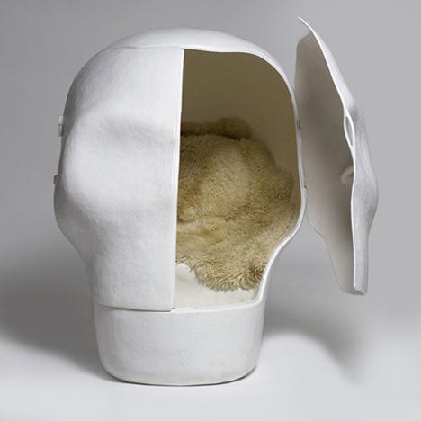Sensory Deprivation Skull Chair 1