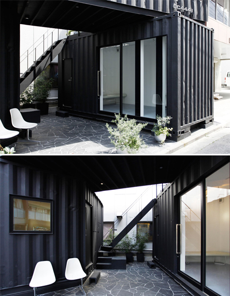 Shipping Container Office 2