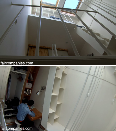 Stairwell Apartment 4