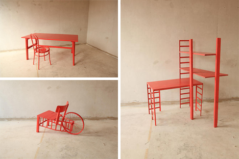 collectables furniture from trash