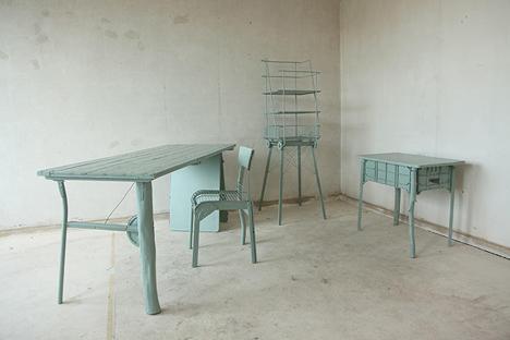 creatively assembled furniture