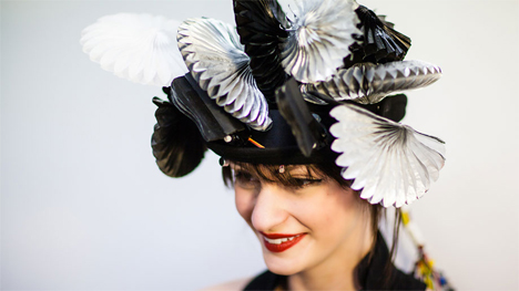 fashion expressive wearable hat
