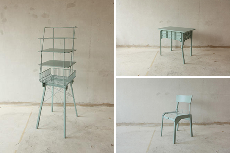 found objects furniture