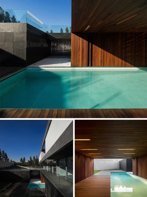 half indoor pool