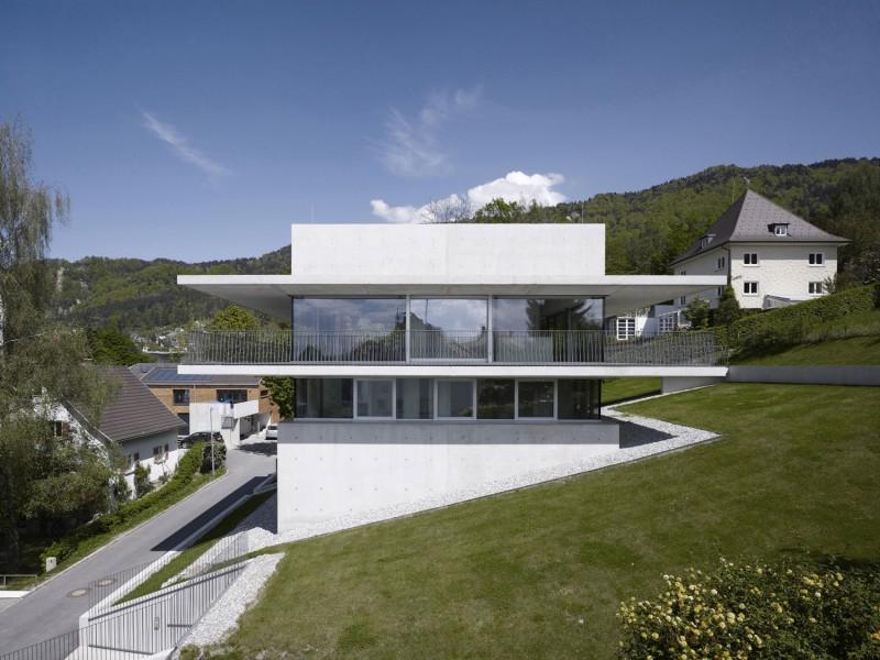 hillside home austria