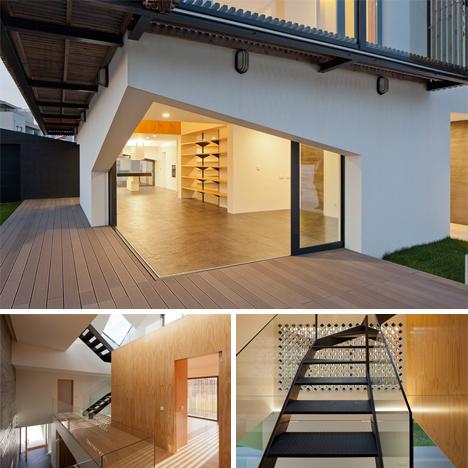 interior moving screens house