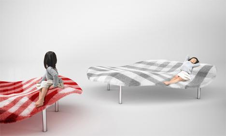 magic flying carpet sofa
